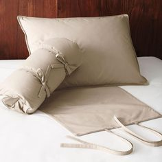 Down Travel Pillow at The Company Store - Bed Basics - Pillows - Down Pillows - One Size