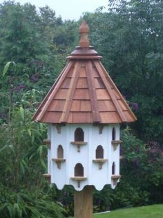 Plans purple martin birdhouse bach yard projects for Dove bird house plans
