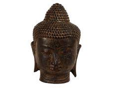 Stone Budha Bust
