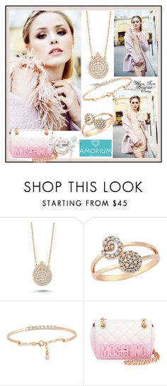 """Amorium.com"" by lila2510 ❤ liked on Polyvore featuring Amorium and Moschino"