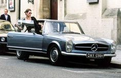 Of course Kate Moss drives my dream car: the Mercedes-Benz 280SL.