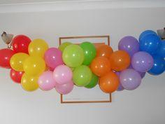 Balloon Rainbow.