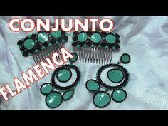Pendientes y Peinetas de flamenca - EARRINGS AND FLEMISH  HAIR COMBS
