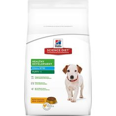 Hill's Science Diet Puppy Small Bites dog food provides precisely balanced nutrition to build immunity and digestive health for puppies w...