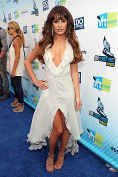 Did Lea Michele steal the show with this Giorgio Armani number, or is this an embarrassing over-the-top blunder?