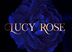 Lucy Rose Typeface
