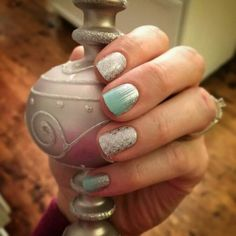 Jamberry Nails - First Frost (retired), Iced. www.facebook.com/amylynne.jamberrynails