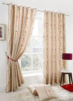 Blossom Ready Made Eyelet Curtains