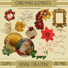 Denise Creationz: Christmas Elements