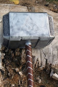This is my latest version of the Avengers movie thor hammer. It is a Fan Crafted, Film inspired Hammer. Made of Urethane plastic resin, scale. Avengers Thor Hammer 2012 d Thors Hammer, Thor's Hammer Mjolnir, Thor Drawing, Thor Hammer Tattoo, Thor Tattoo, Avengers Movies, Marvel Avengers, Thor Cake, Hero Arts