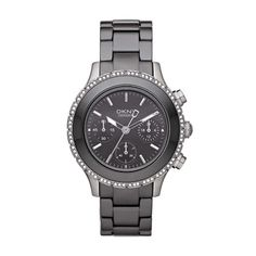 4a3c7c972b2 DKNY NY8671 Women s Black Ceramic Watch Digital Watch
