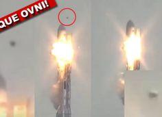 PILNE: zaatakowany rakiety SpaceX FALCON UFO?  - [VIDEO]