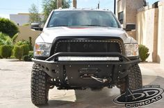 Addictive Desert Designs Stealth Front Bumper With Factory Winch For Your 2010+ Dodge Ram 2500 / 3500HD (Powerwagon ONLY)