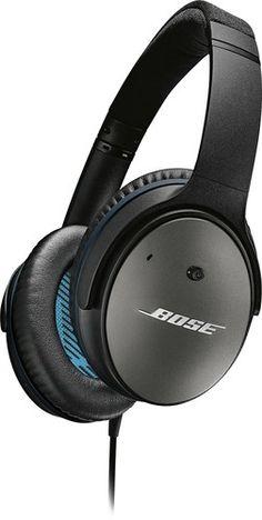 Bose® - QuietComfort® 25 Acoustic Noise Cancelling® Headphones - Black