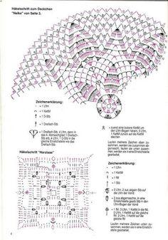 Схема к фото 14)   Serwetki szydełkowe 2 - Zosia32 - Picasa Web Albums