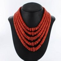 Collier Corail Rouge Or 750 Grade AAA COCROAA-5R-002-00