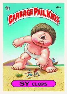 another Garbage Pail Kids card. I used to love these!