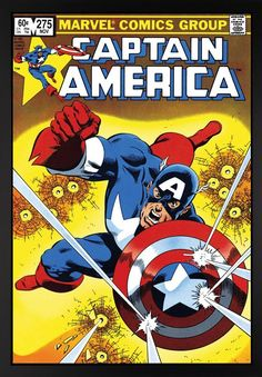 Captain America #275 – 2015 - The Marvel Collection - Art - Castle Galleries