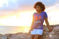MulletBay Blue 37 squaremile shirt