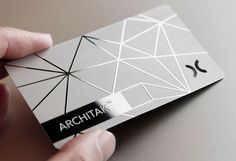 Cool business card design on a matte board. | Printing Fly at http://www.printingfly.com/business-card-printing-los-angeles/