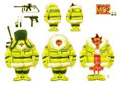 Maël Gourmelen - Character Design Page