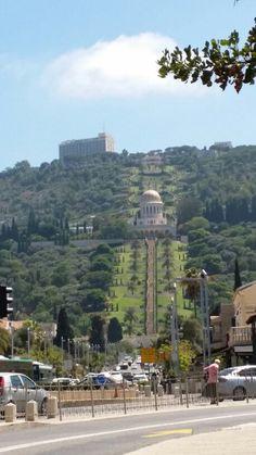 Jardins de Bahia Haifa Israel Seattle Skyline, Paris Skyline, Israel, Haifa, Garden, Travel