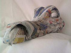 paper mache dragon head - Google Search