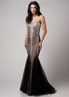 Envious Couture by Karishma Creations 3792 Sparkly Beaded Dress