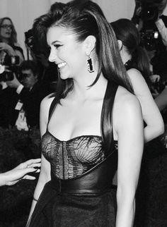 Nina at Met Gala. Nina Dobrev~ Vampire Diaries <3