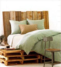 Wooden Palet bed frame