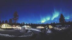「オーロラ見ながら、おやすみなさい」フィンランドのガラス・イグルーに泊まりたい | TABI LABO