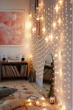 I love these long long lights! They would look amazing in a bedroom behind a wall or outside on the patio!