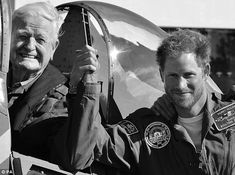 Prince Harry has released his official Christmas card, showing him proudly posing with a B...