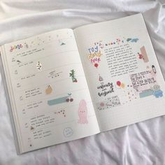 Bullet Journal Notes, Bullet Journal Aesthetic, Bullet Journal Ideas Pages, Bullet Journal Spread, Bullet Journal Inspiration, Art Journal Pages, Study Journal, Journal Layout, My Journal