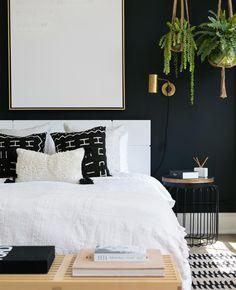 Graphic pillow   follow @shophesby for more gypset boho modern lifestyle + interior inspiration