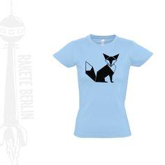 Damen T-Shirt  'Fuchs'  von RaketeBerlin auf DaWanda.com