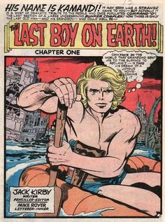 Comic panel by Jack Kirby