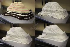 Carving Mountain Cake