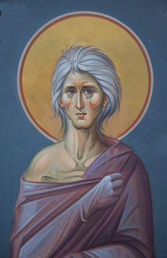 St Mary Of Egypt, Byzantine Icons, Orthodox Christianity, Guardian Angels, Orthodox Icons, Christian Art, Saints, Spirituality, Fictional Characters