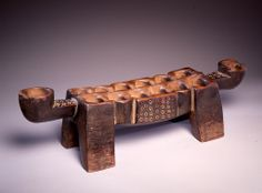 Liberia. Gameboard, probably Dan or Mano. High Museum of Art