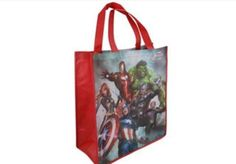 The Avengers tote bag for only $2.80! Shop unbeatable prices now at maysmerchandise.com! #avengers #hulk #captainamerica #totebag