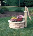 Amish Water Pump Planter Outdoor Accents Collection Add rustic charm to your outdoor space with this treated pine wood Amish Water Pump Planter. This piece of rustic decor looks great anywhere i