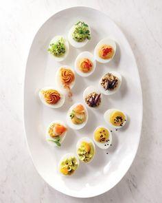 Deviled Eggs via Martha Stewart