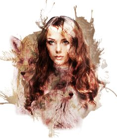 Fox Girl-PSCS6+Photo+Brush Photo Brush, Fox Girl, Game Of Thrones Characters, Paintings, Artwork, Design, Work Of Art, Paint, Auguste Rodin Artwork