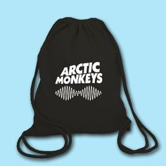 Arctic Monkeys Drawstring Bag