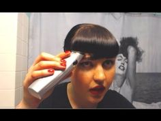 The EASIEST way to trim Baby Bangs! (aka Betty Bangs or Retro Fringe)  For more details, please visit this link: http://midcenturymacgyver.com/the-easiest-way-to-trim-baby-bangs/