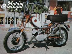 Portugal, Portuguese, 1970s, Motorcycles, Board, Couple, Motorbikes, Portuguese Language, Motorcycle