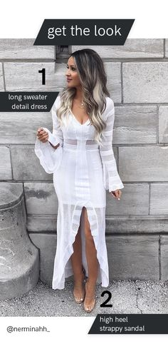 Trendy outfits for summer outfits casual fashion ideas casual summer style Sexy Casual Style Looks Pair this white maxi dress with nude heels for a fresh summer look White Maxi Dresses, Sexy Dresses, White Dress, Beautiful Dresses, Halter Dresses, Trendy Outfits For Teens, Cute Outfits, Summer Outfits, Sexy Outfits