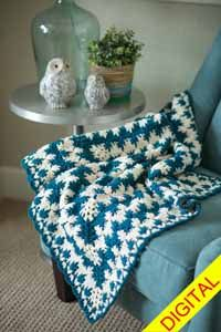 Grow With Me Baby #Blanket Digital #Crochet Pattern from Love of Crochet magazine, Spring 2015
