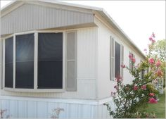 My Hearts Song Mobile Home Exterior BeforeAfter great idea